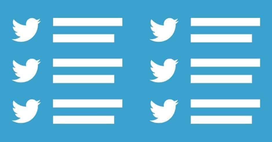 القوائم في تويتر خصائصها ومميزاتها