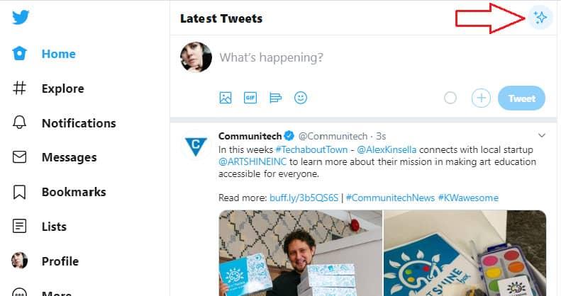 خوارزمية تويتر في 2020 2