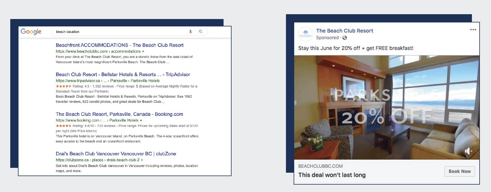 الدمج بين إعلانات جوجل وفيسبوك لزيادة التحويلات خلال رحلة العميل 5