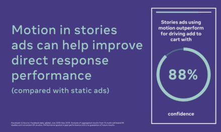 نصائح من فيسبوك للمساعدة في تحسين القصص وإعلانات الفيديو